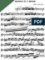 [Clarinet_Institute] Pitt, Percy - Concertino for Clarinet, Op.22.pdf