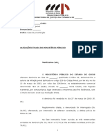 Alegacoes Finais. Art. 229 Cp