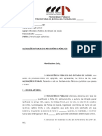 Alegacoes Finais. Art. 339 Cp