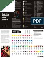Color Chart Marker Leaflet - LR.