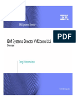 IBM Systems Director VMControl 2.2 Overview