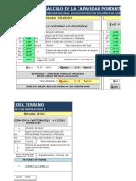 Capacidad Portante (TERZAGHY & VESIC)