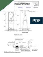Ch00505 Puentes de Suspensión Para Luz de 36,58 a 300 m Tipo a – Detalles