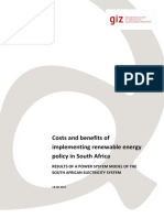 1132 Costs Benefits of Implementing Re in South Africa