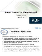 5.1 BSSPAR Radio Resource Management