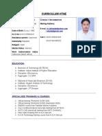 C.V of Muhammad Zafar Yab.docx