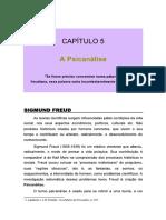 Psicologias Cap 5 Psicanálise