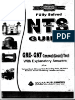 Nts Gat General Guide Book by Dogar Publisher PDF