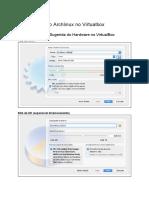 EHCode42 Instalação Do Archlinux No VirtualBox
