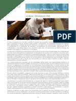El Derecho Humano Al Agua - Declaración Final