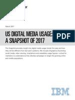 EMarketer Digital Media Usage Snapshot 2017