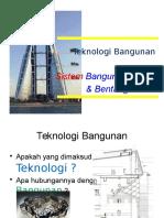 Teknologi & Sistem Bangunan-2016