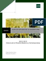 Guía II Hª de La Filosofía Moderna y Contemporánea(Versión Definitiva)