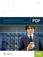 Combating Financial Crime the Increasing Importance of Financial Crimes Intelligence Units in Banking