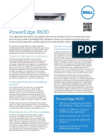 Dell PowerEdge R630 Spec Sheet ES HR