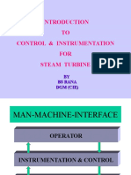 c & i for Steam Turbine