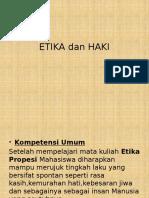 Etika Dan Haki
