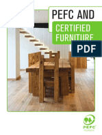 PEFC and Certified Furniture