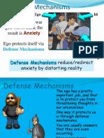 freud - defense mechanisms