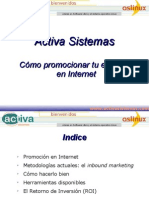 Cómo promocionar tu empresa en Internet
