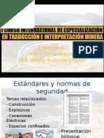 I Curso Internacional de Especializacion en Traduccion e Interpretacion Minera
