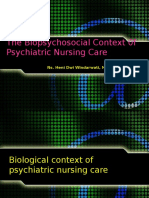 The Biopsychosocial Context of Psychiatric Nursing Care