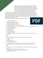 Contoh Soal Sertifikasi SAP Fundamental 01