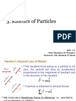 3. Kinetics of Particles