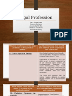 Legal Profession Report Group 2