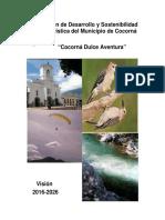 Plan de Desarrollo y Sostenibilidad Turística de Cocorná