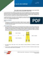 EN ISO 20471:2013 Nuevo estándar para ropa de alta visibilidad