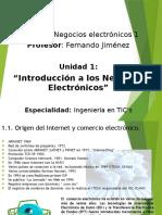 Introduccion a Los Negocios Electronicos