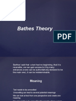 baths theory