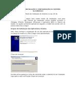 Manual de Instalçao e Configuração Do Sistema Slcomercio