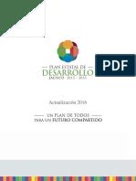 PLAN DE DESARROLLO DEL ESTADO DE JALISCO