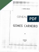 Genealogia Gomes Carneiro
