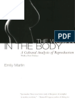Woman in the Body a Cultural Analysis of Reproduction With a New Introduction