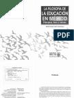 Yurén - Filosofía de la educación en México - Principios, fines y valores.pdf