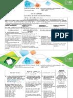 Guía de Actividad Conocimientos Previos - Etapa de Inicio