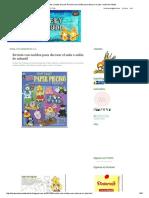 Los Duendes y Hadas de Ludi_ Revista Con Moldes Para Decorar El Aula o Salón de Infantil