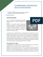Práctica Nº2 Impresiones y Obtencion de Modelos de Ortodoncia
