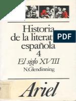 156180507 123376989 Historia de La Literatura Espanola 4 El Siglo XVIII Nigel Glendinning PDF