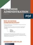 business administration term 1 final presentation