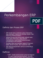 Perkembangan ERP