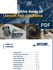 The Definitive Guide to Aircraft Part Conditions