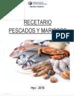 Recetario pescados y mariscos (Perú)