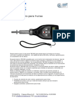 Penetrometro Para Frutas TEC 800