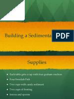 building a sedimentary rock pptx