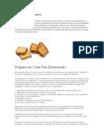 Pan Dextrinado Casero