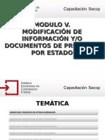 SECOP - 5 -Modificar Informacion